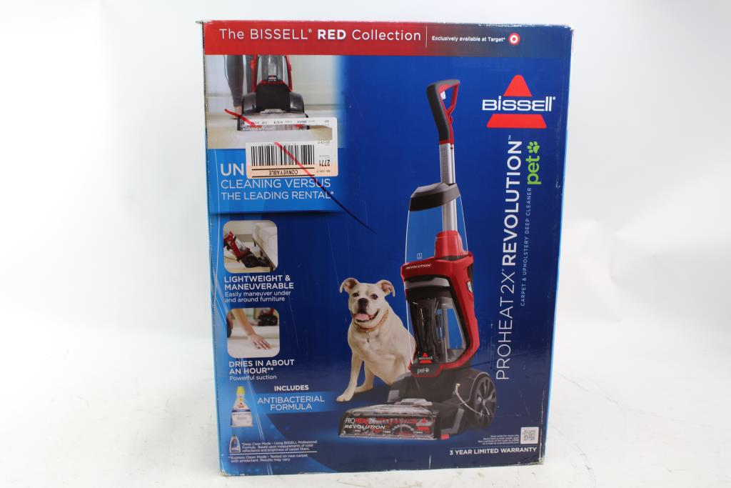Bissell Proheat 2x Revolution Pet Carpet Amp Upholstery