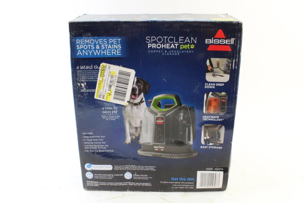 Bissell Spotclean Proheat Pet Carpet Upholstery Cleaner Property