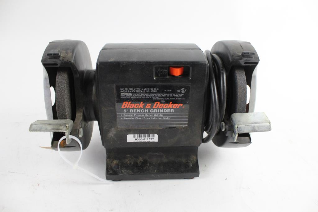 Black And Decker 5 Quot Bench Grinder Property Room