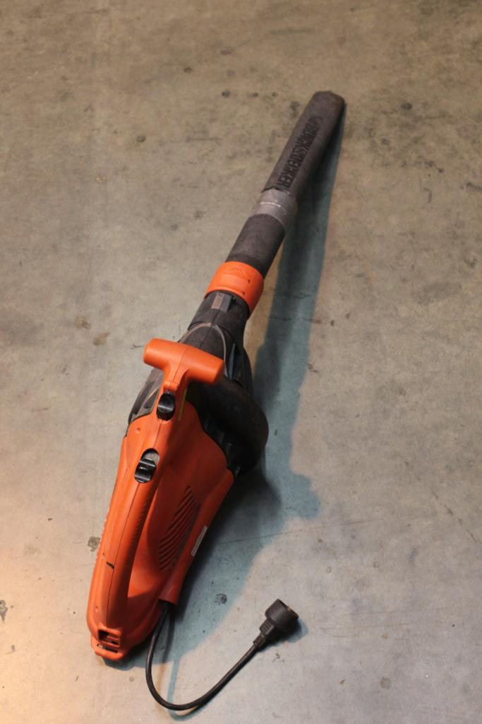 Black And Decker Bv2500 Leaf Hog Blower Property Room