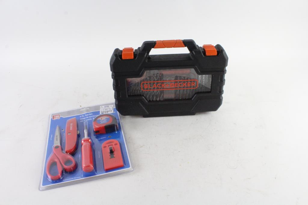 06ec6f6ab Black & Decker 132-Piece Project Kit, And More, 2 Pieces | Property Room