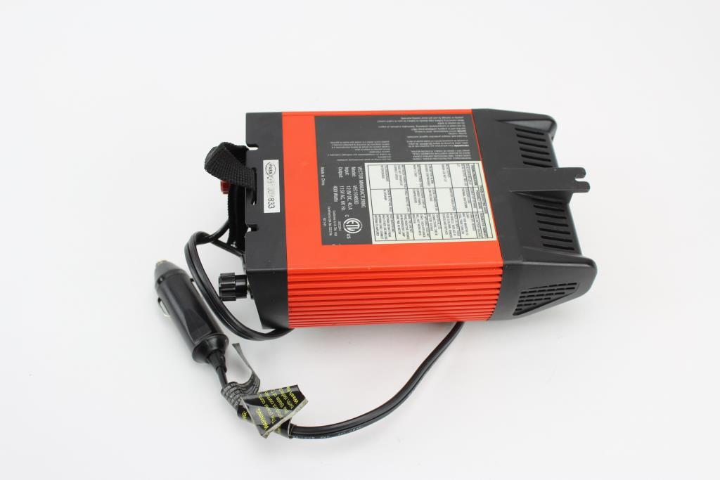 Black and Decker 400 watt Inverter Manual