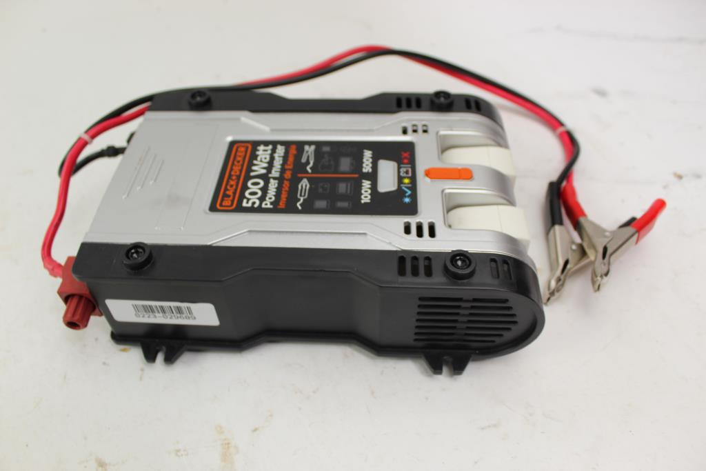 Black & Decker 500W Power Inverter PI500P | Property Room