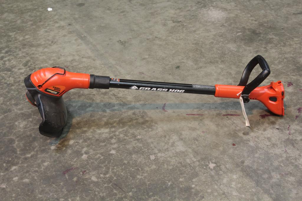 Black And decker grass hog Weed Eater owners manual
