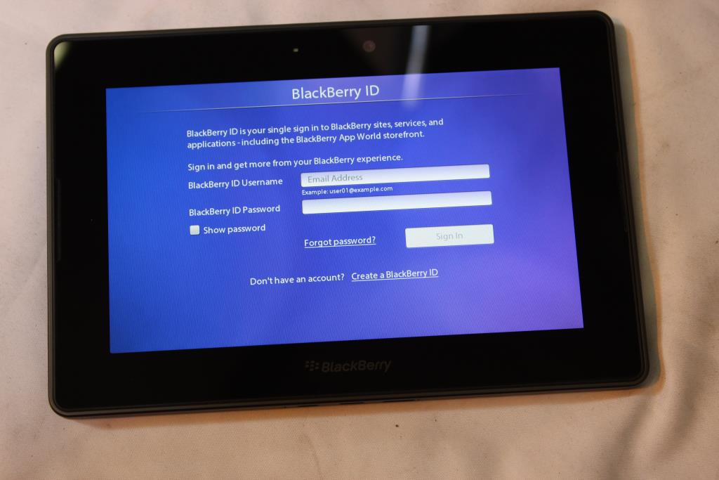 BlackBerry Playbook, 16GB, Wi-Fi Only | Property Room