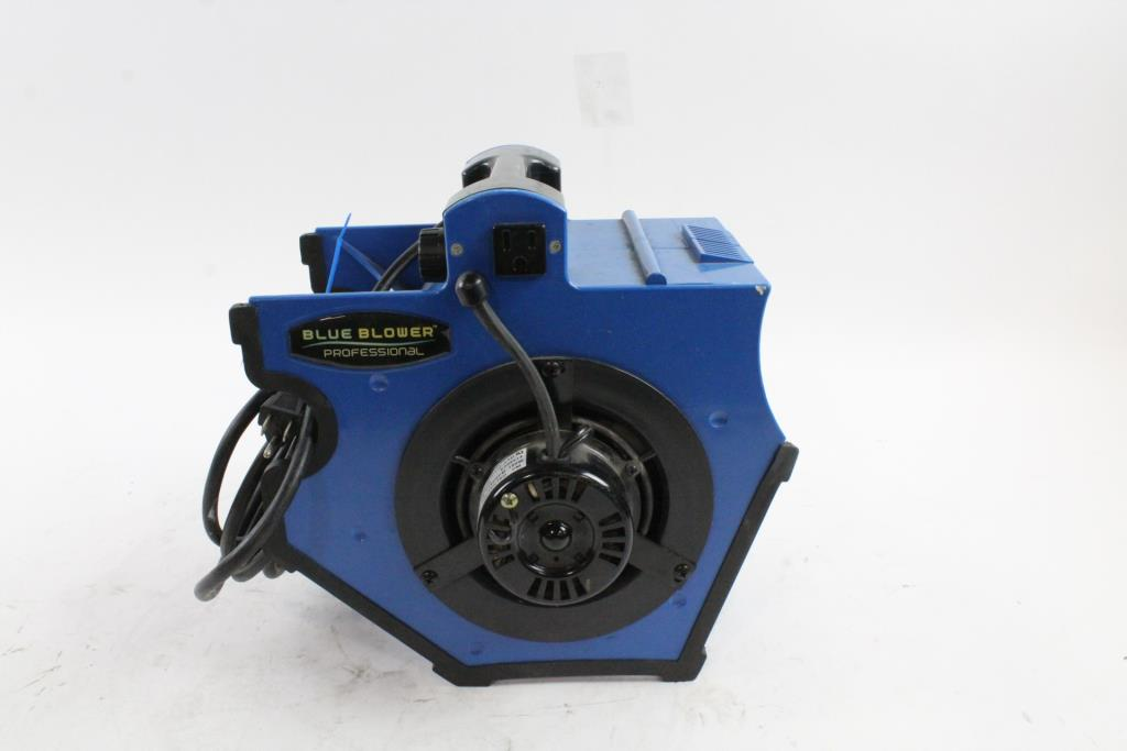 Blue Blower Professional Electric Fan Property Room