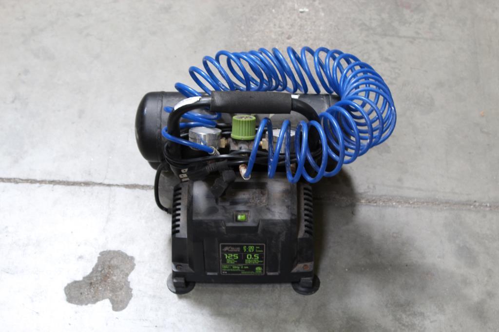 Blue Hawk Air Compressor | Property Room