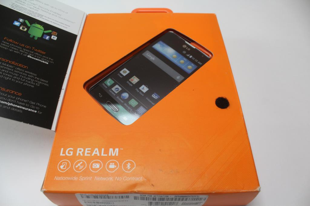 Boost Mobile LG Realm Cell Phone | Property Room