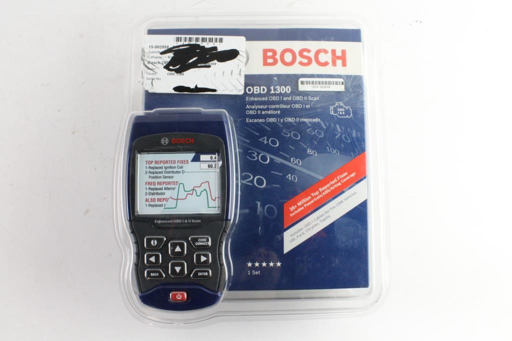 Bosch OBD I And OBD II Scanner | Property Room
