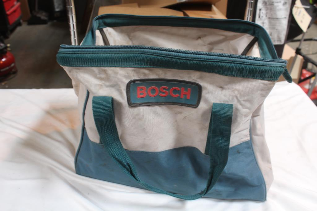 Bosch Tool Bag With Various Tools