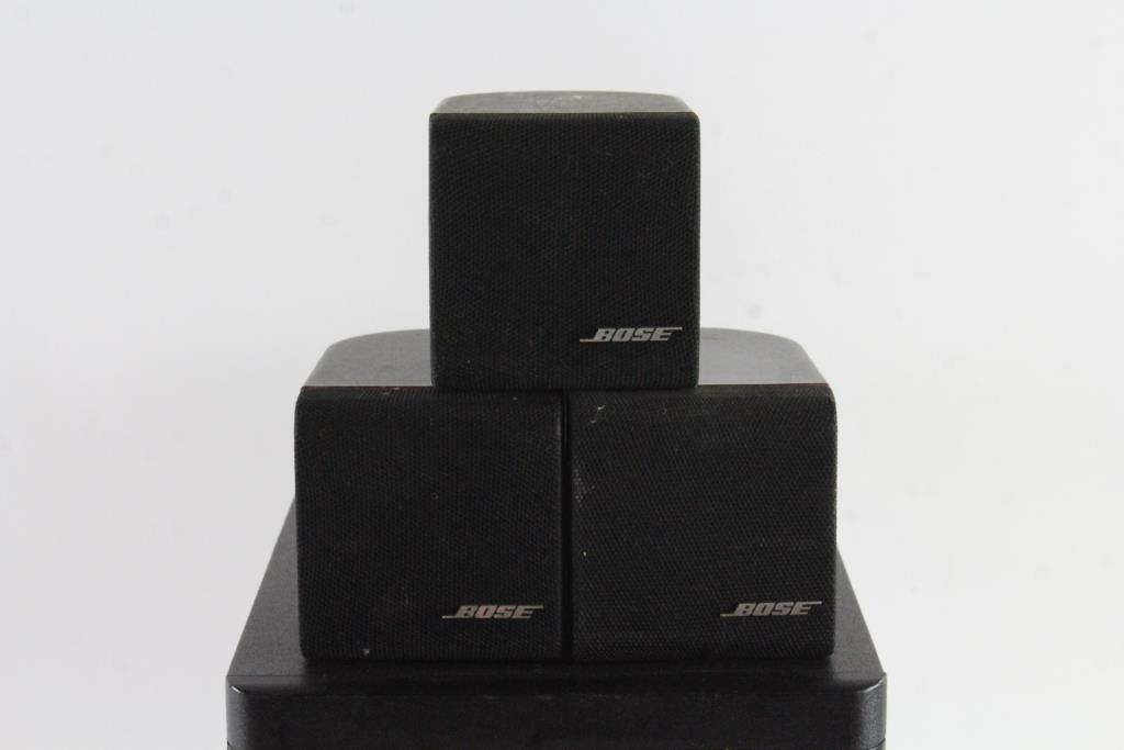 Bose home theater speaker system property room bose home theater speaker system publicscrutiny Choice Image