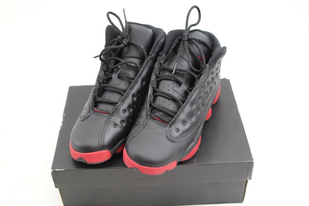 check out 01bd4 1d2d1 Boys Nike Air Jordan 13 Retro BG Baskeball Shoes Size 6Y