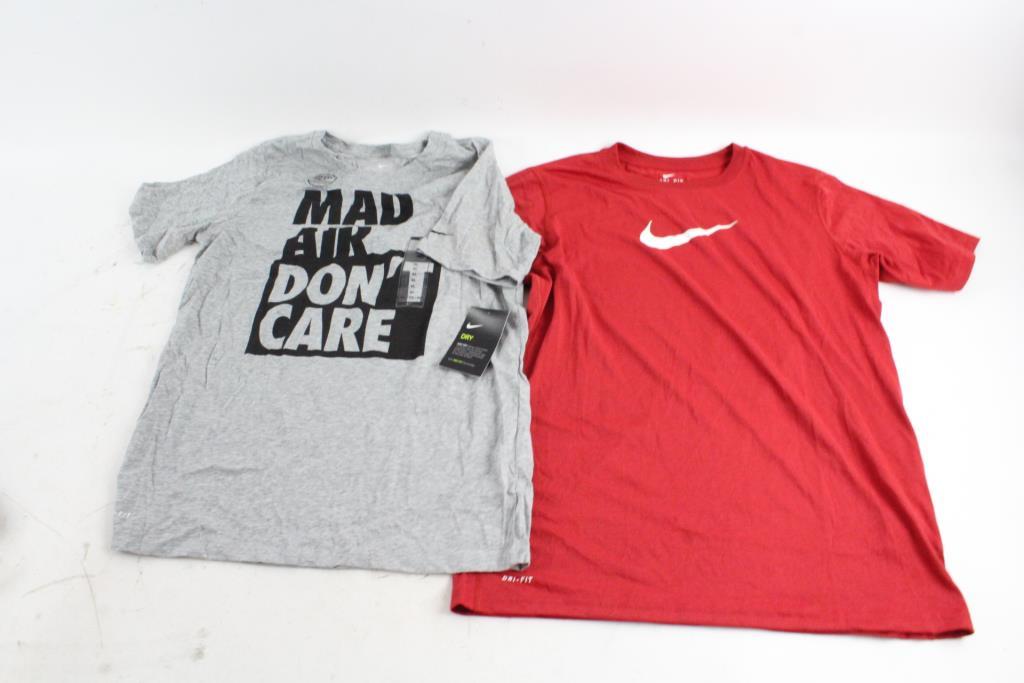 009708ef Boys Nike Shirts, Size XL, 6 Pieces | Property Room