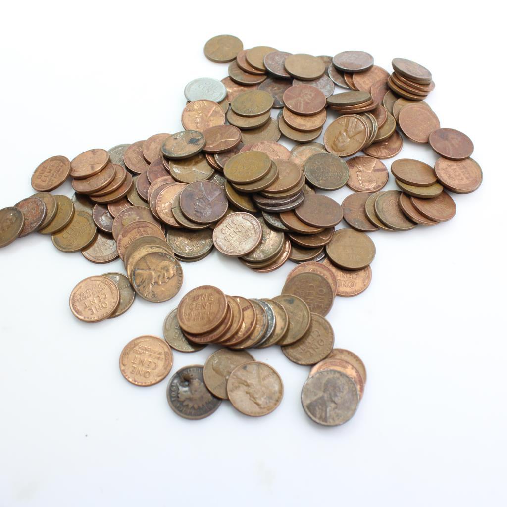 Bulk U S  Pennies, 1+ Pound | Property Room