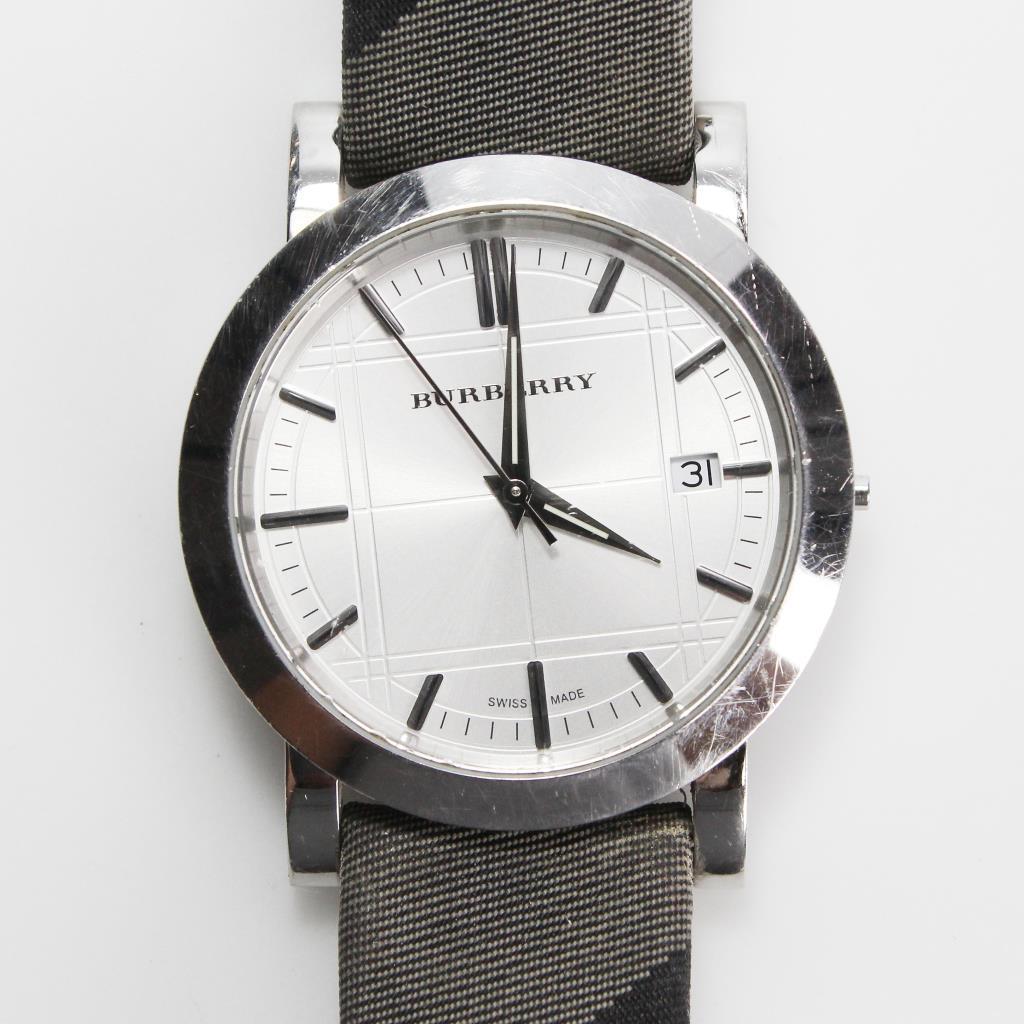 43efd8445ae4 Burberry Heritage Nova Check Watch