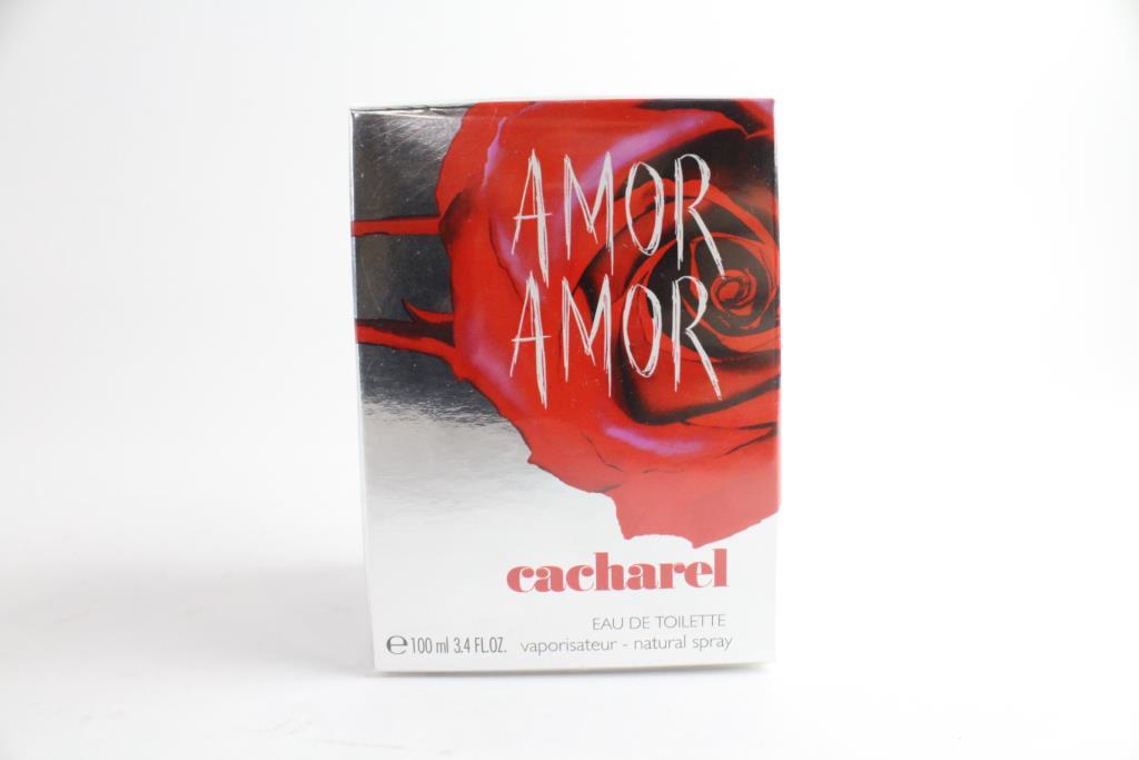 3b9df91c13 Cacharel Amor Amor Women's Fragrance Spray, 3.4 Fluid Ounces ...