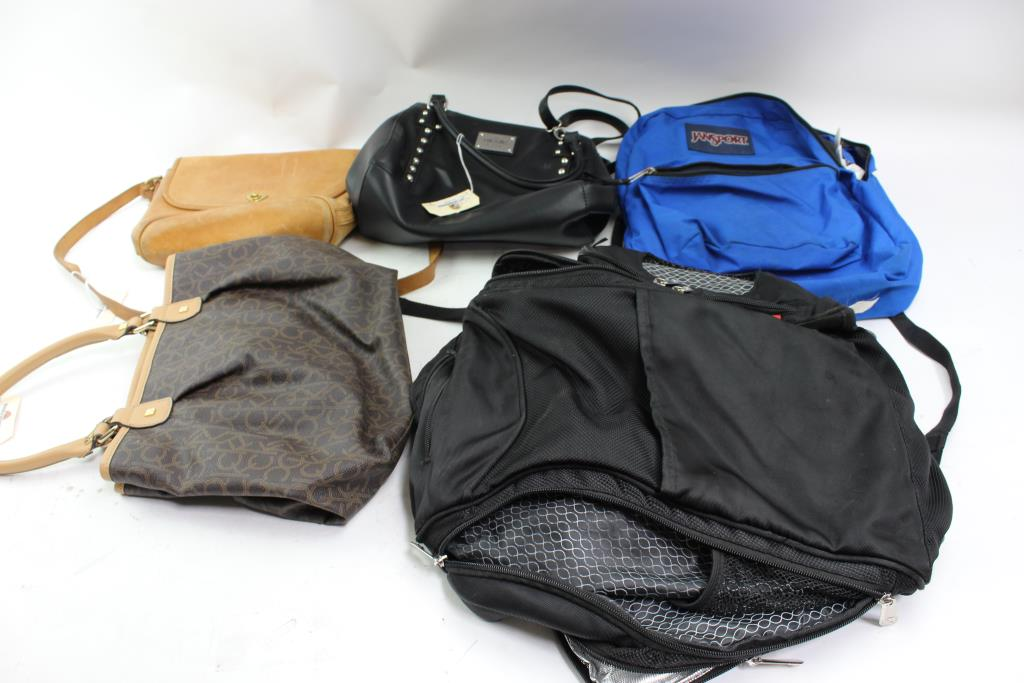 Calvin Klein, Guess And More Handbags And Backpacks, 5