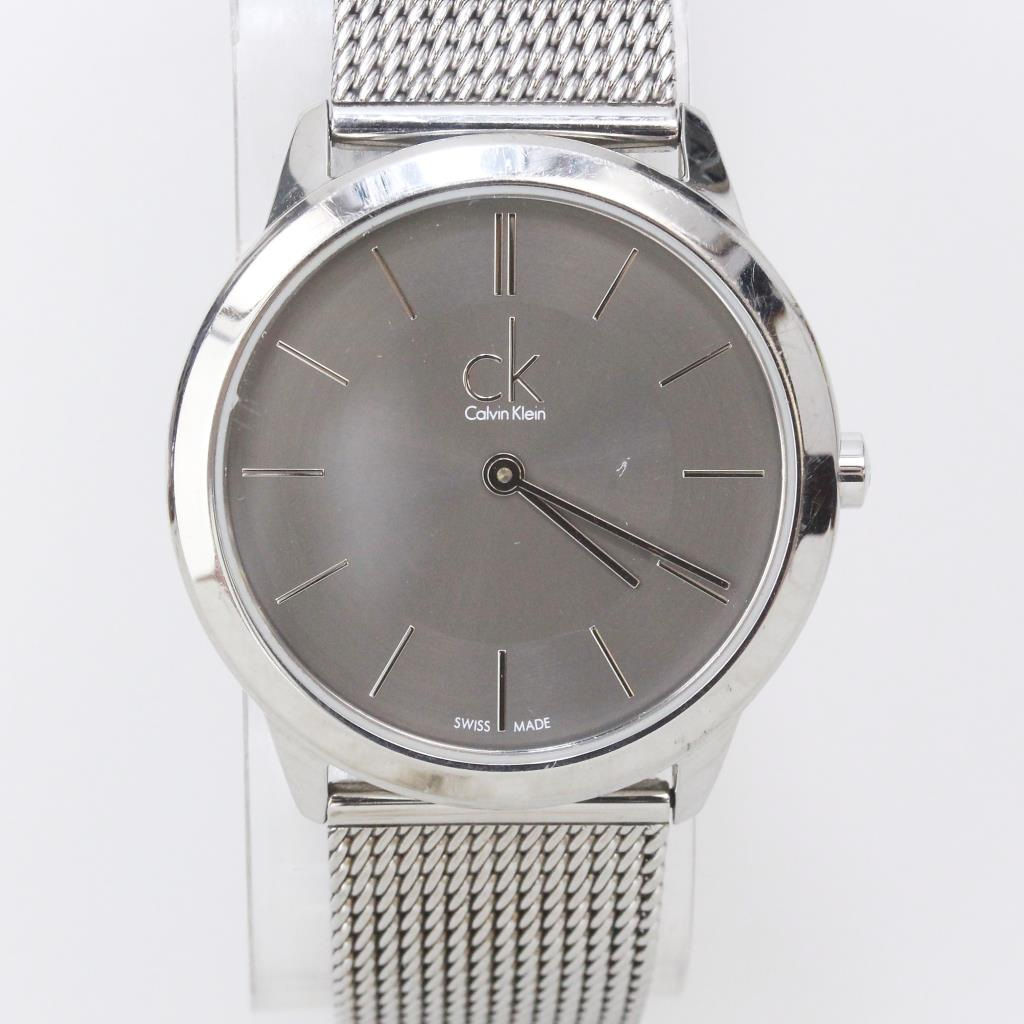 8abe080c42d Calvin Klein Minimal Mesh Stainless Steel Men's Watch | Property Room
