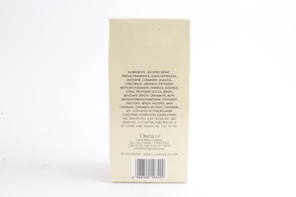 Calvin Klein Obsession Womens Fragrance Spray 34 Fluid Ounces