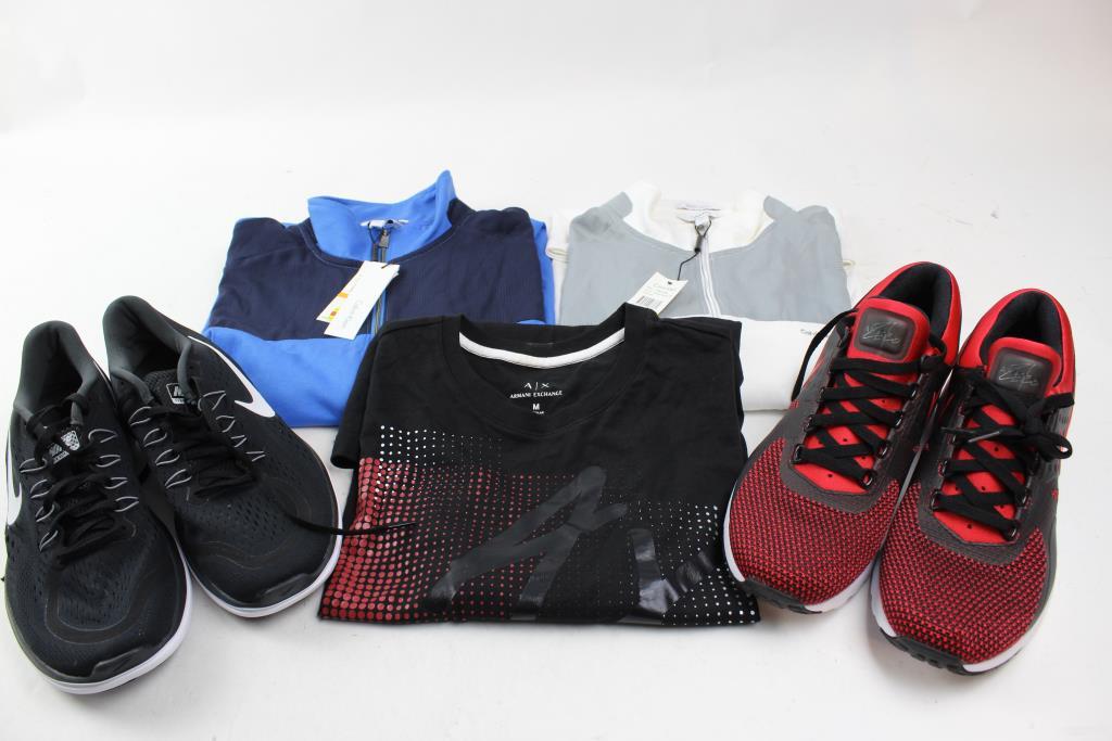 sulle immagini di piedi di stile alla moda colore veloce Calvin Klein Pull Over Sweater, Nike Shoes, Armani Exchange Shirt ...