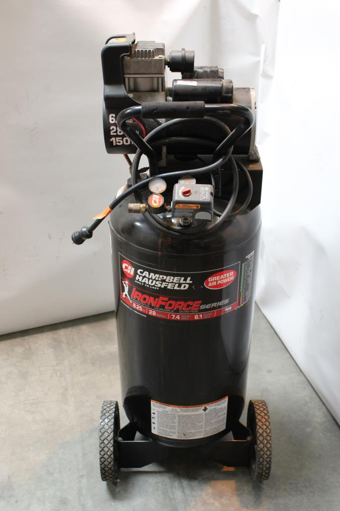 Car Audio Systems >> Campbell Hausfeld Ironforce 28 Gallon Air Compressor ...