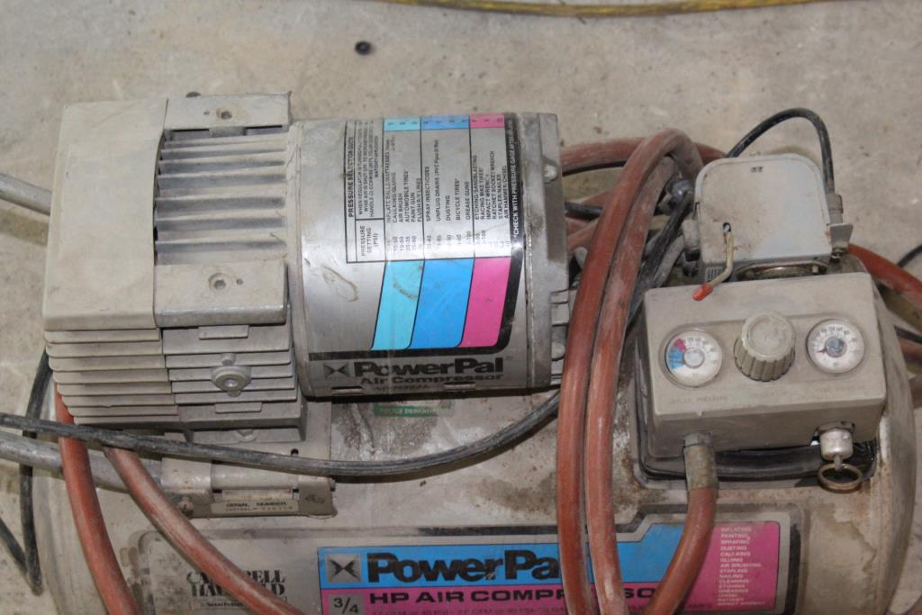 How To Use An Air Compressor >> Campbell Hausfeld PowerPal Air Compressor | Property Room