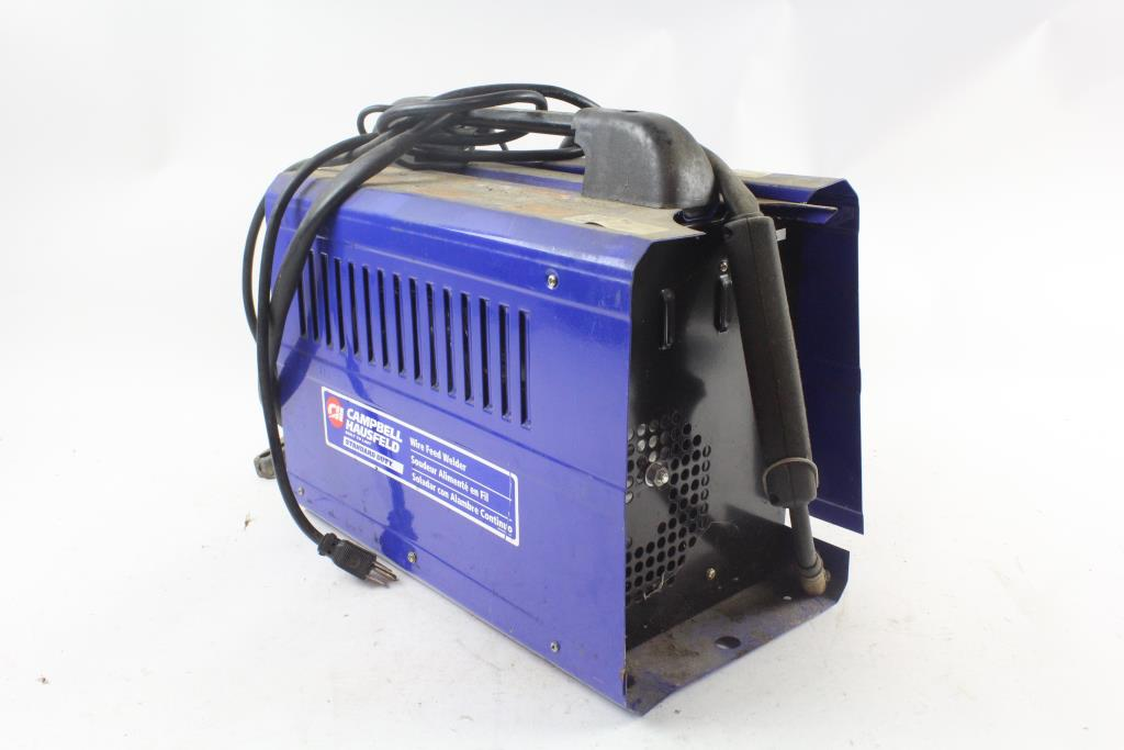 Campbell Hausfeld Wire Feed Welder, Sold For Parts