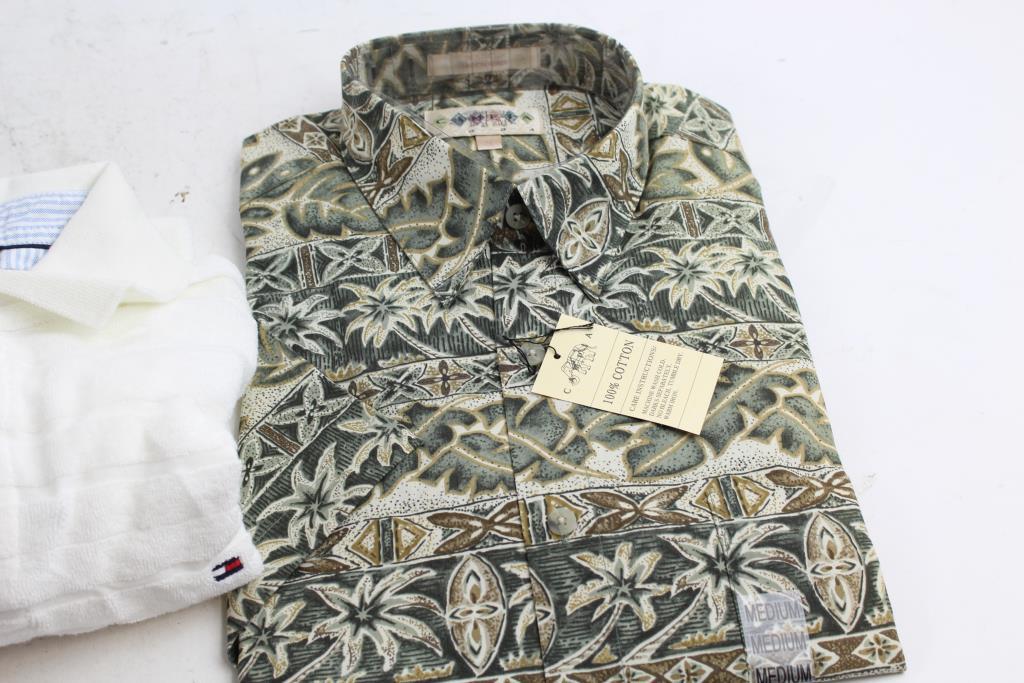 de4004b310b67 Campia Moda   Tommy Hilfiger Men s Shirts  2 Pieces  Size M ...