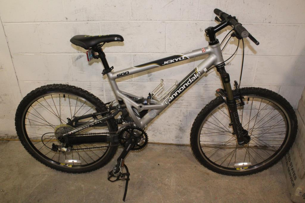 21c4f400415 Cannondale Jekyll 500 Mountain Bike | Property Room