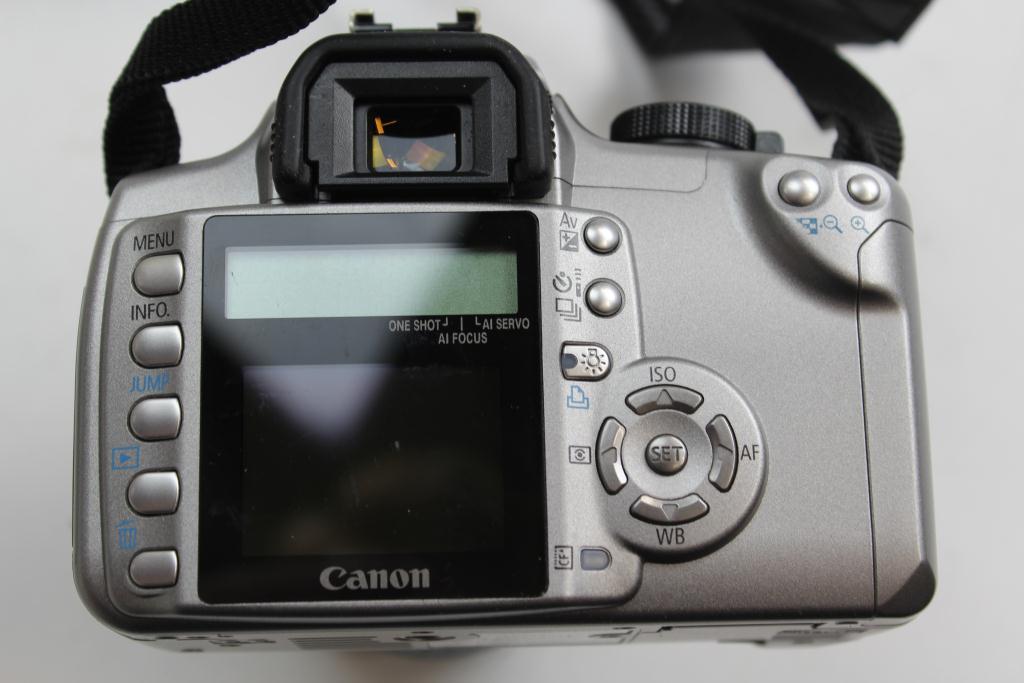 Canon Ds126071 Eos Rebel Xt Digital Camera Property Room