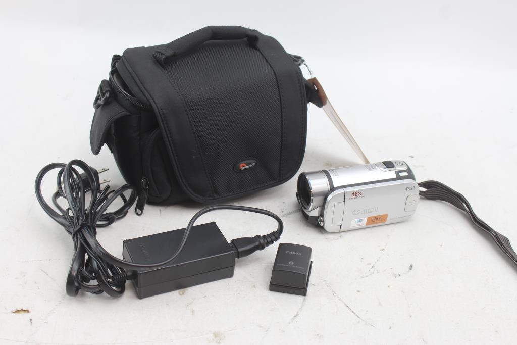 canon fs20 digital video camcorder property room rh propertyroom com Fs20 Door Fingerprint Scanner Fs20