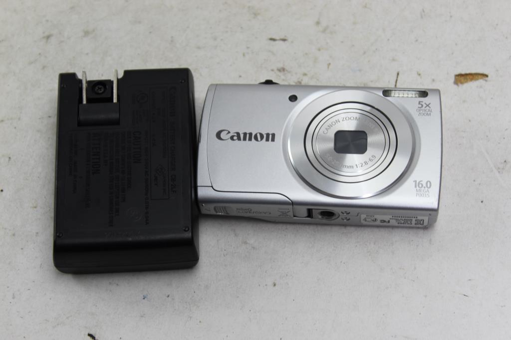 Image 1 Of 3 Canon Powershot A2500 Digital Camera