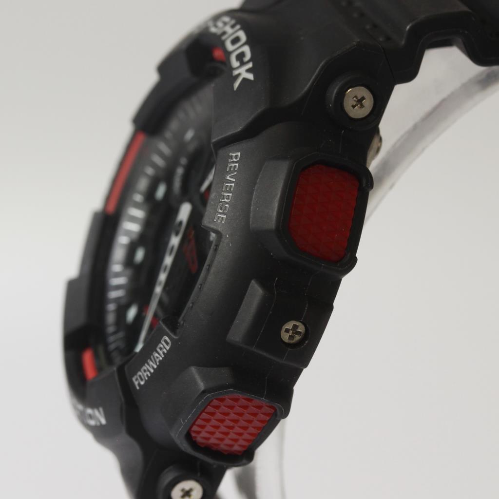 442e61446 Casio G-Shock Big Combi Black And Red Analog-Digital Men's Watch ...