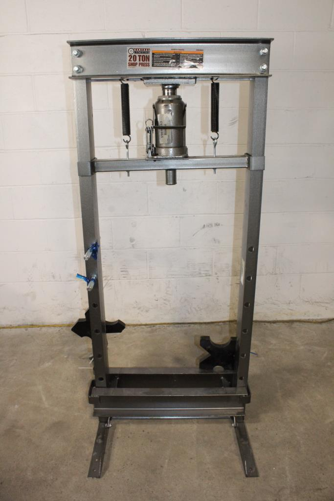 Central Machinery 20-Ton Hydraulic Shop Press | Property Room
