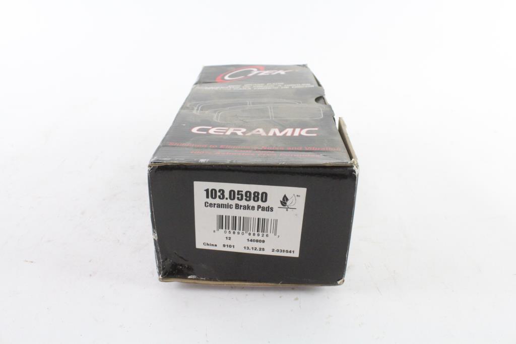 Brake Pad Centric Ceramic 103.05980