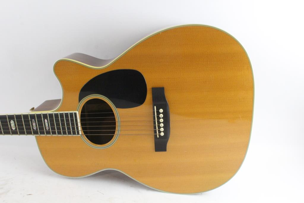 C F Martin Co Acoustic Guitar Property Room