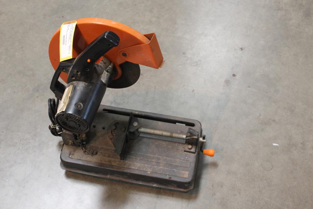 Image 1 Of 3 Chicago Electric 14 Cut Off Saw 44829