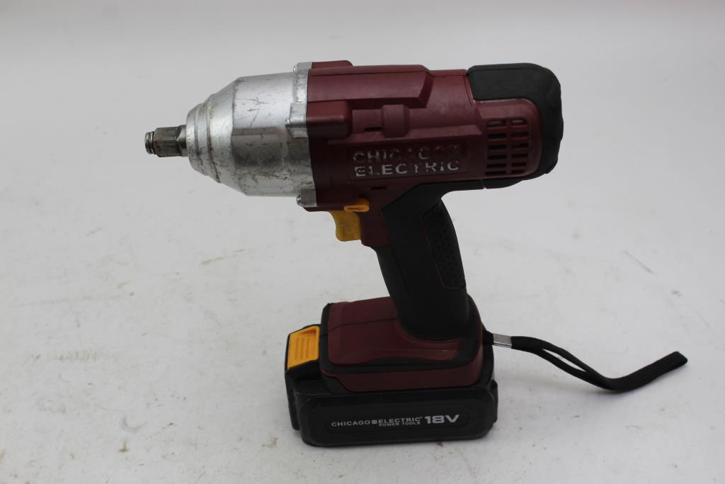 Chicago Electric 62658 Cordless Impact Wrench