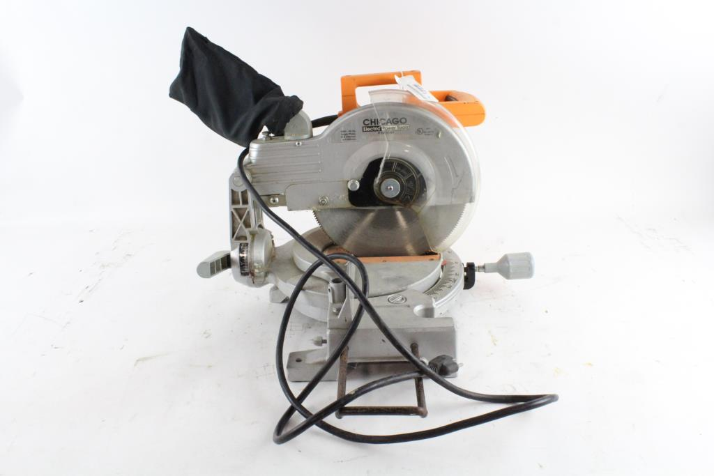 Chicago Electric Compound Miter Saw | Property Room