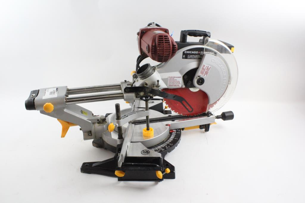 Chicago Electric Dual Slide Compound Miter Saw | Property Room