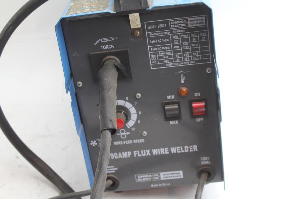 Chicago Electric Welding Systems Flux Wire Welder
