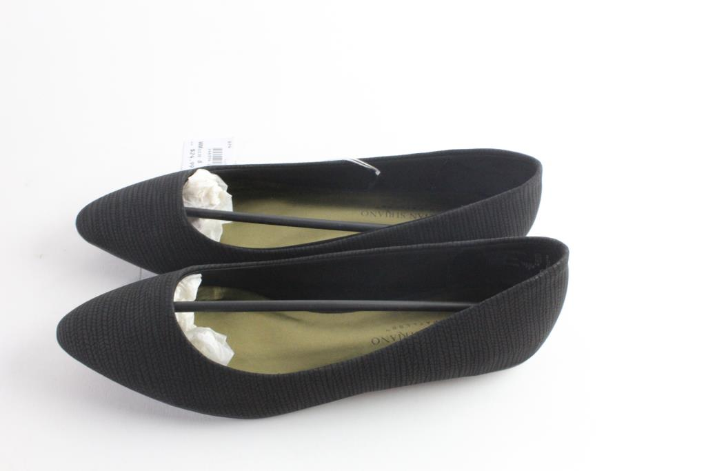 Christian Siriano Point Flat Womens Shoes Size 8