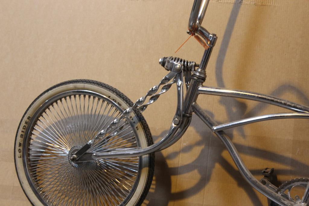 Chrome Lowrider Bicycle | Property Room