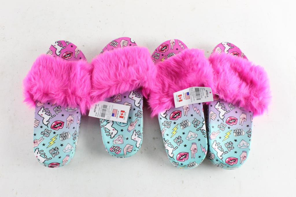 womens slippers size 10