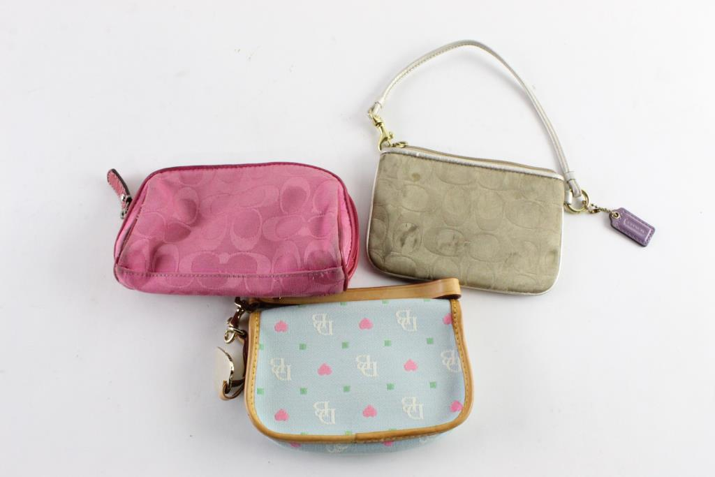 ad816151b3 Coach And Other Women's Wristlets, 3 Pieces | Property Room