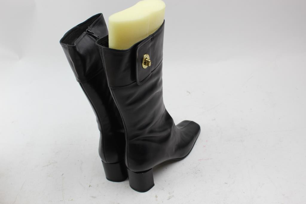 53c20b4169b53 Coach Onnette J672 Black Women s Boots Size 9 B