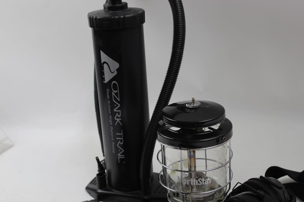 Coleman North Star Lantern, Ozark Trail Hand Pump And More