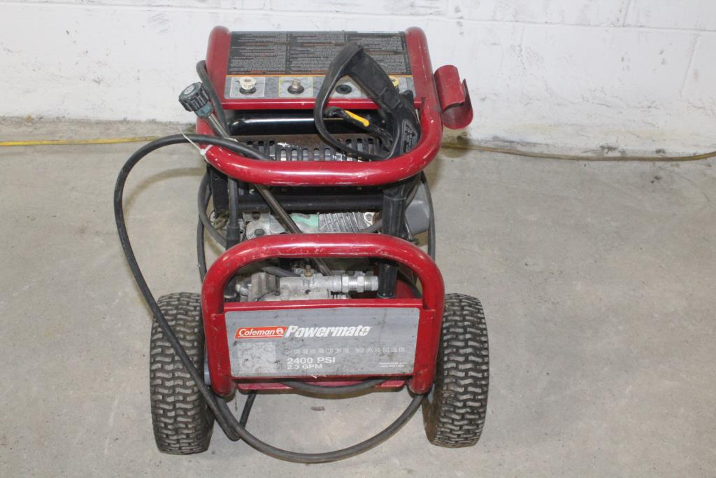 Coleman Powermate Pressure Washer Property Room