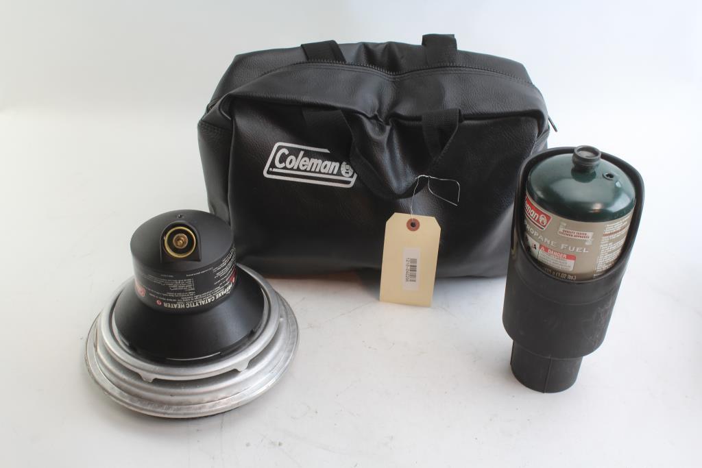 Coleman Propane Catalytic Heater Propane Fuel Container