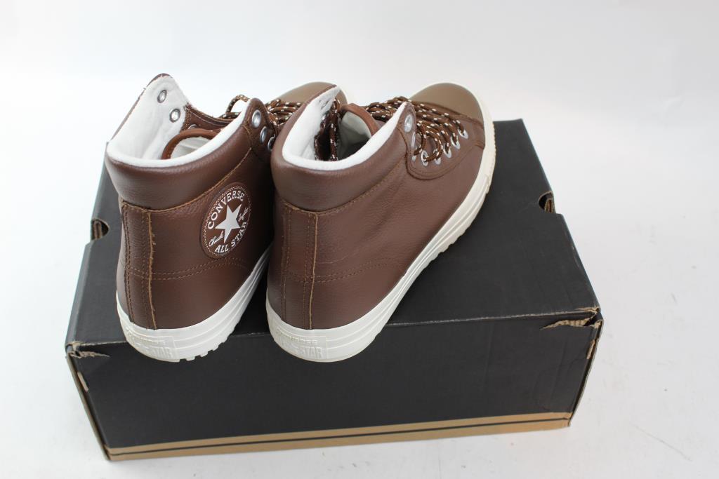 Converse Chuck Taylor All Star Tumble Leather Hi braun